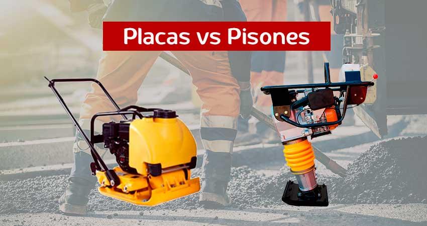 Pisones o Placas, la importancia de la compactación de suelos