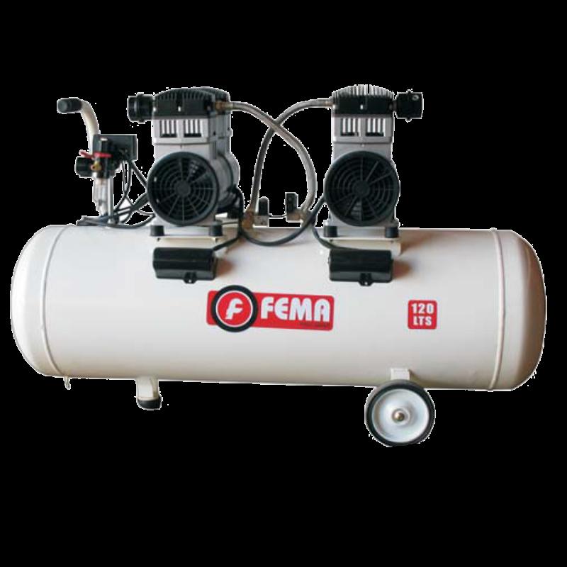 Compresor Axial 2.5hp 120 litros Duca