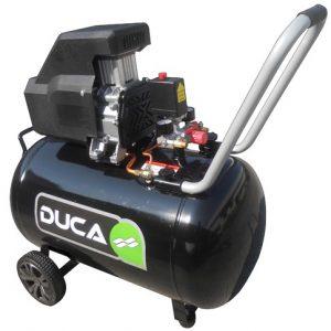 Compresor Libre de Aceite -Acero- 100 Litros Duca
