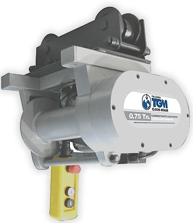 Cabrestante eléctrico TGM 500Kg 20 Mts/min