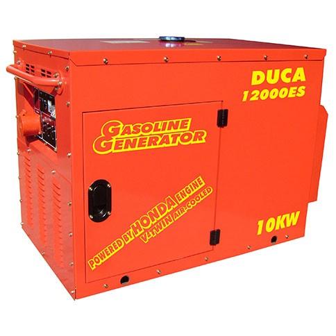 Generador Naftero 12000 Duca Honda insonorizado