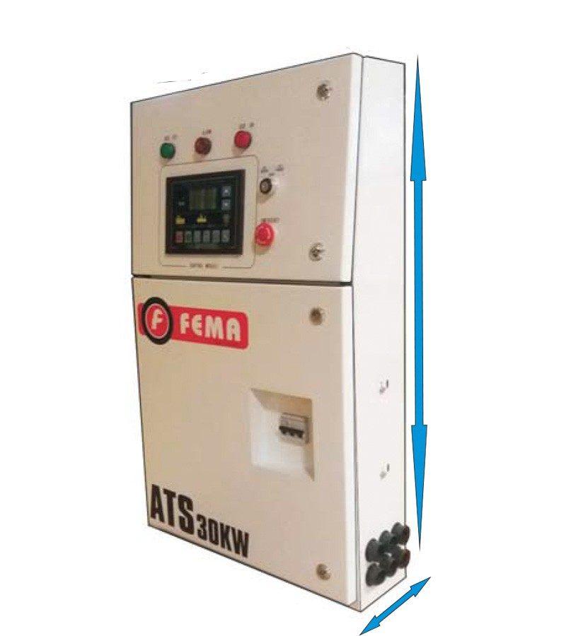 Transferencia Automática para Generador 24kw