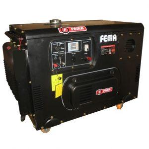 Generador Diesel Insonorizado con Transferencia 15000