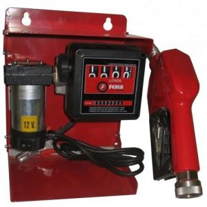Electrobomba 12 / 24 Volts Gasoil 40 L/m completa