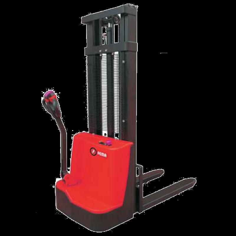 Apilador Transpalet A Batería 1200 Kg - 3mt Alzada Fema