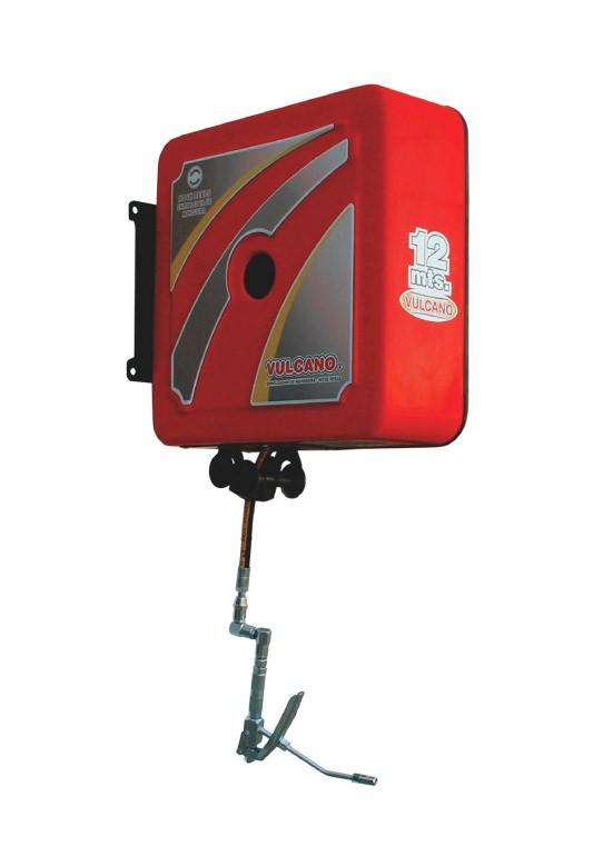 Enrollador de manguera para grasa Carenado Vulcano EM 329