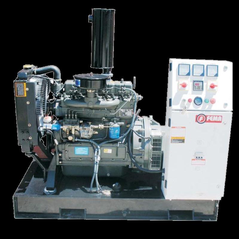 Generador Abierto 30kw - 40.8KVA