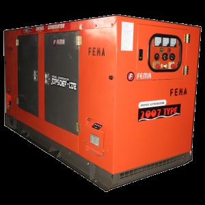 Generador Insonorizado 15kw - 20.4KVA con transferencia