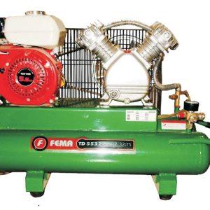 Compresor a Explosión 5.5hp tanque de 32 litros