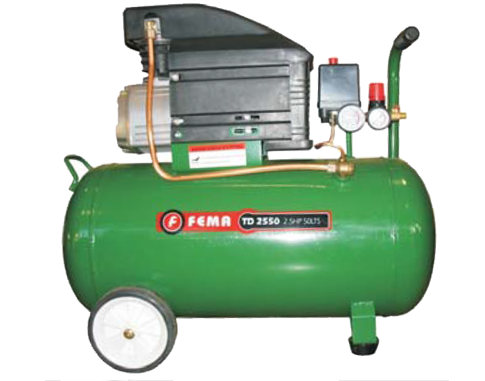 Compresor Axial 2.5hp 50 litros Fema