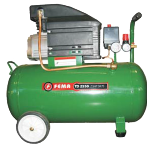 Compresor Axial 2.5hp 25 litros Fema