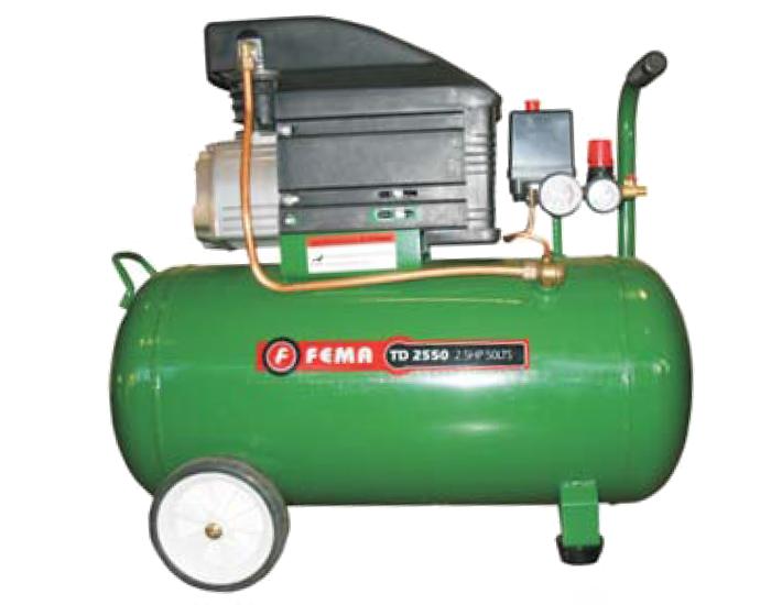 Compresor Axial 2.5hp 25 litros Fema