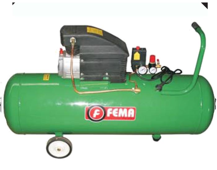 Compresor Axial 2.5hp 100 litros Fema