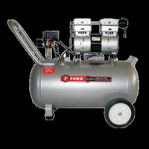 Compresor Carter seco de Aluminio Libre de Aceite 50 Litros