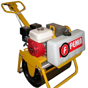 Rolo Compactador Simple Motor 13hp 650x355mm