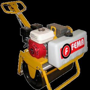 Rolo Compactador Simple Motor 5.5hp 600mm