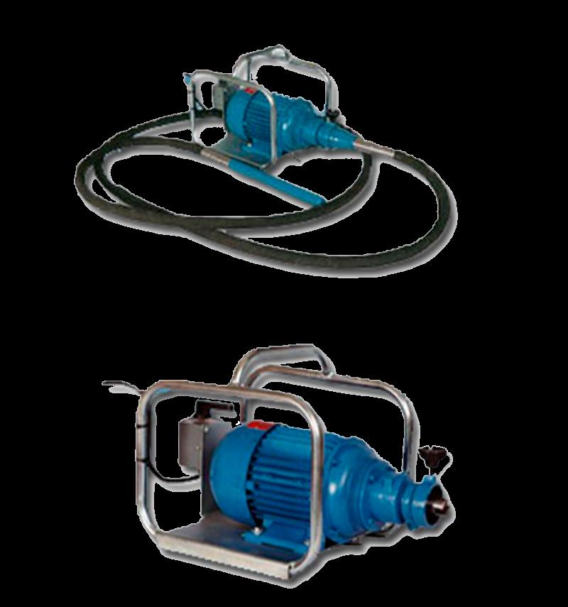 Vibrador de Inmersión Canasto 32mm Trifásico