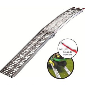 Rampa de Aluminio Fema 450kg carga máx. 1 Tramo