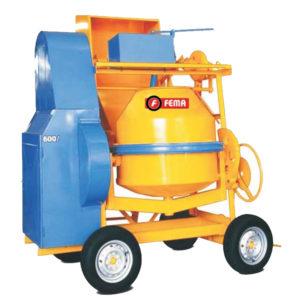 Hormigonera de 600 litros con Tolva