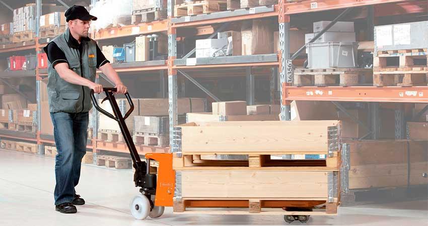 Transpalet o Zorras: cuando mover material es fácil